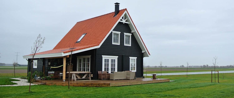 Finnhouse natuurlijk wonen in hout for Eigen huis te koop