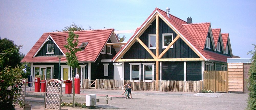 Houten Clubhuis Finnhouse 3128 Renesse
