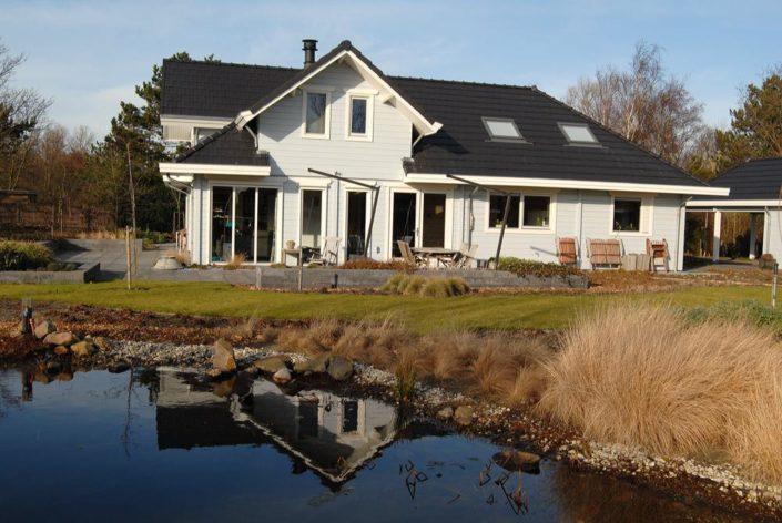 houten huis Finnhouse 3072 Nieuw Haamstede