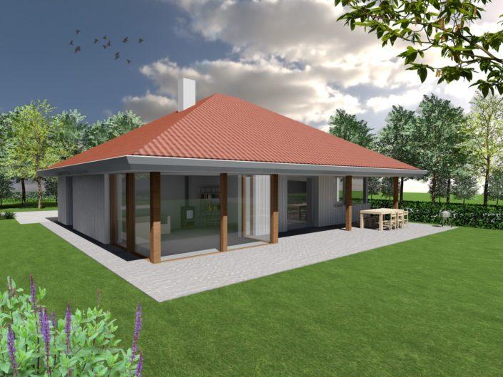 Houten huis Finnhouse 3758-12