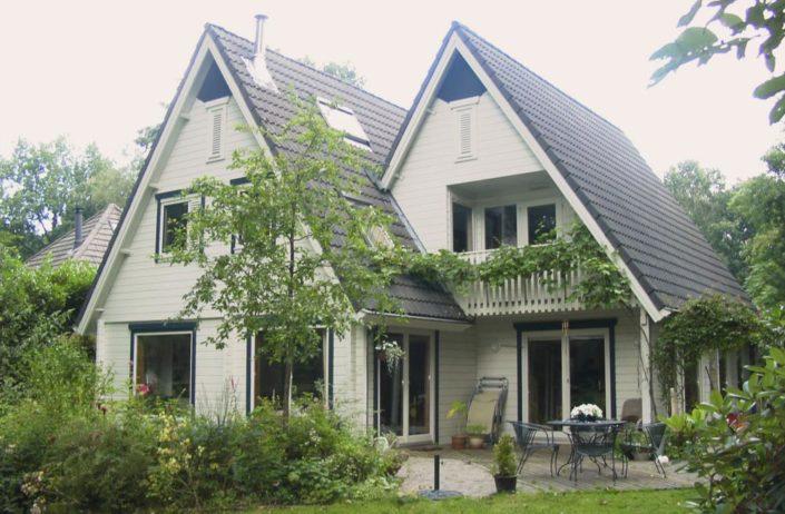 Logbouw Finnhouse 1191 Wageningen