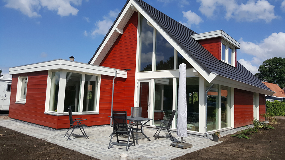 Schuurwoning 3775 finnhouse for Kostprijs woning bouwen