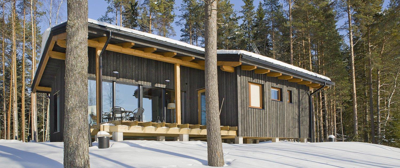 Fonkelnieuw Finnhouse – Natuurlijk wonen… in hout DS-53