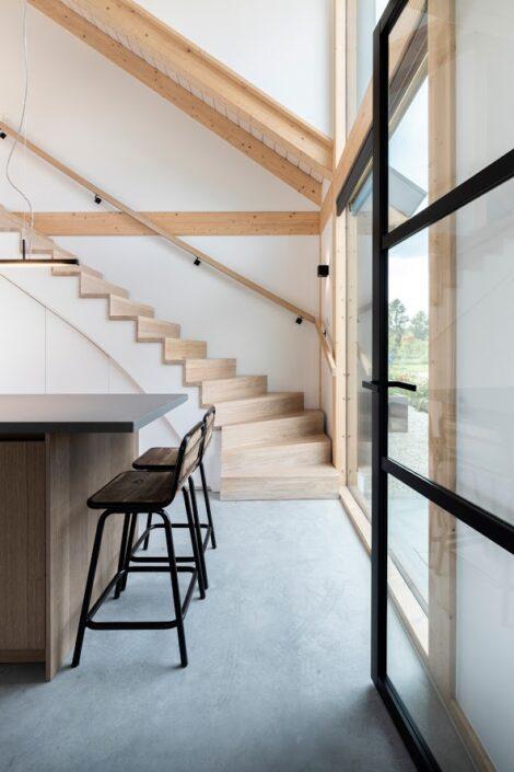 Finnhouse vakwerk architectuur